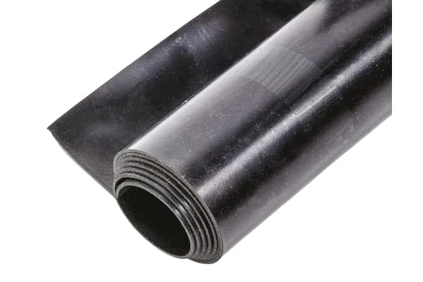 Product image for Neoprene Rubber, Black 1000x1200x1.5mm