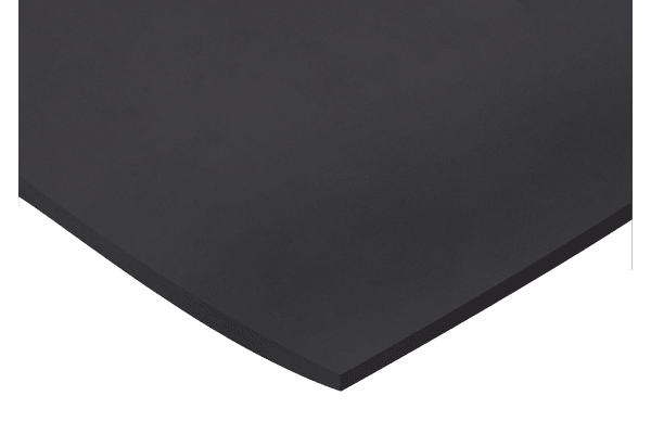 Product image for Neoprene Rubber, Black 1000x600x3mm
