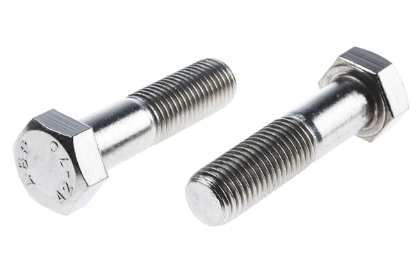 Product image for A2 s/steel hex head bolt M20 x 80mm