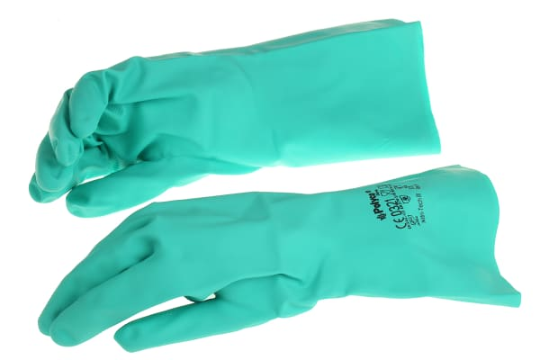 Product image for BM Polyco, Green Work Gloves, Size 9