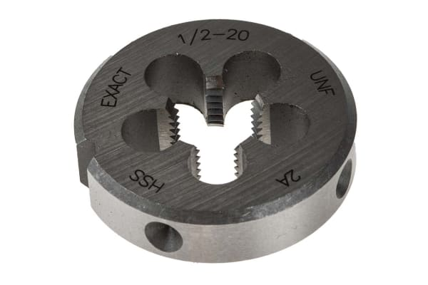Product image for DIE HSS UNF 1/2