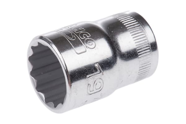 Product image for 1/2in sq drive,socket,19 mm A/F