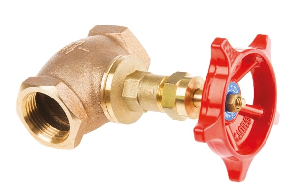 Product image for BRONZE GLOBE VALVE,PN32,1.1/4IN BSPT