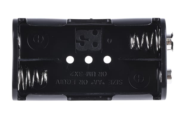 Product image for Multiple holder for 2 x AA cell