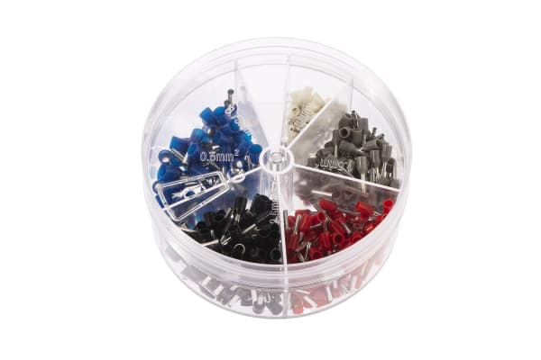 Product image for Bootlace ferrule kit.0.5-2.5mm sq cable