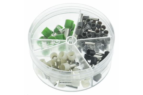 Product image for Bootlace ferrule kit 4,German color code