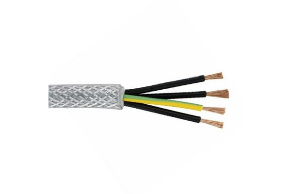 Product image for 4coreSYarmoured mains cable,2.5sqmm 100m
