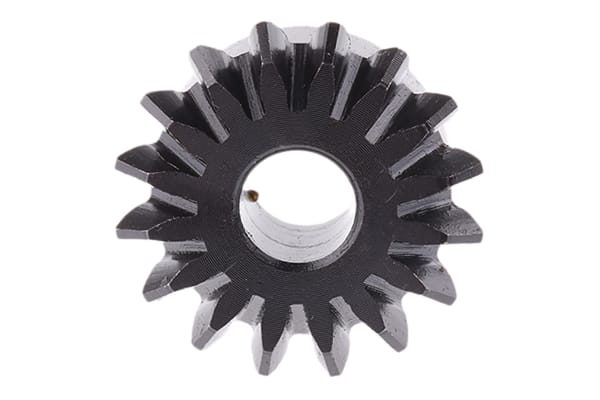Product image for Gear,mitre,steel,1.5 module,16 teeth
