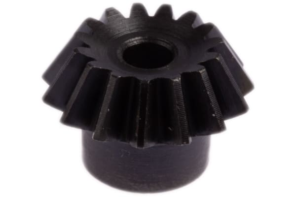 Product image for Gear,bevel,steel,1.5 module,15 teeth