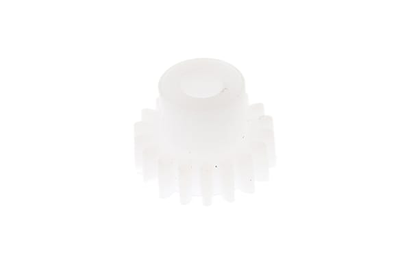 Product image for Delrin spur gear - 0.5 module 18 teeth