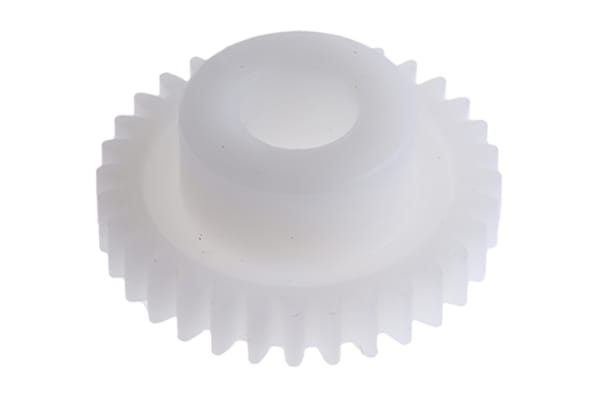 Product image for Delrin spur gear - 0.5 module 32 teeth