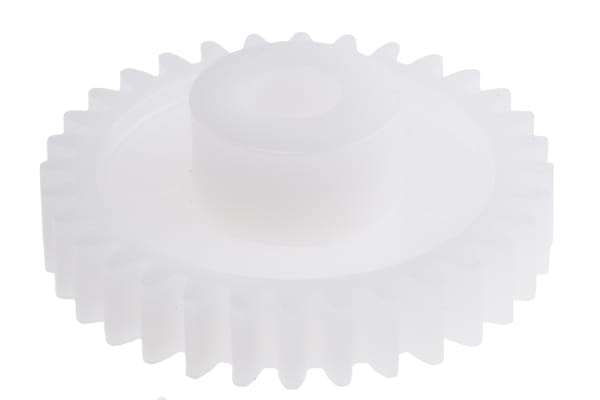 Product image for Delrin spur gear - 0.5 module 36 teeth