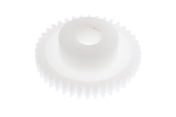 Product image for DELRIN SPUR GEAR - 0.5 MODULE 40 TEETH