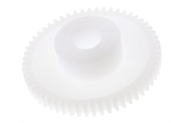 Product image for Delrin spur gear - 0.5 module 56 teeth