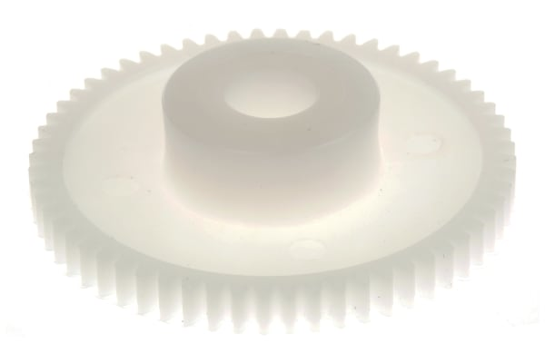 Product image for Delrin spur gear - 0.5 module 60 teeth