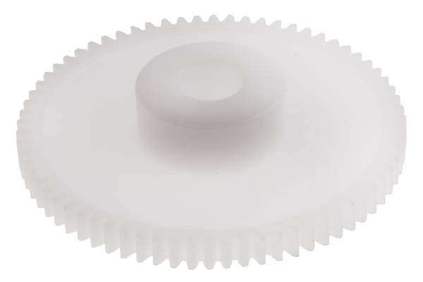 Product image for DELRIN SPUR GEAR - 0.5 MODULE 70 TEETH