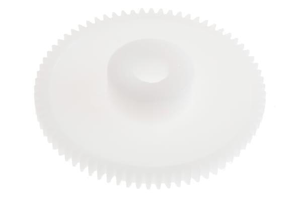 Product image for Delrin spur gear - 0.5 module 72 teeth