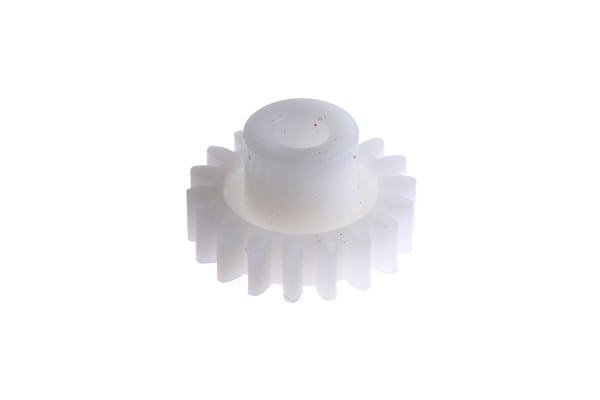 Product image for Delrin spur gear - 0.8 module 18 teeth
