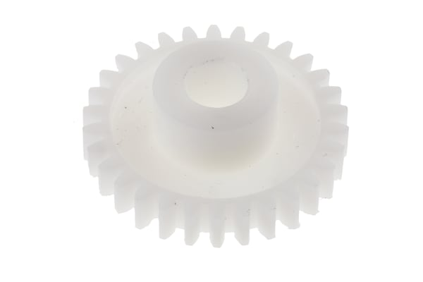 Product image for Delrin spur gear - 0.8 module 30 teeth