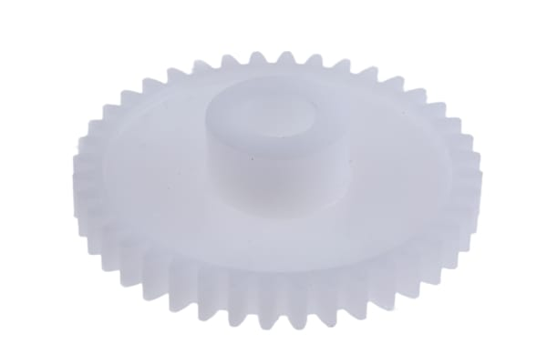 Product image for Delrin spur gear - 0.8 module 40 teeth