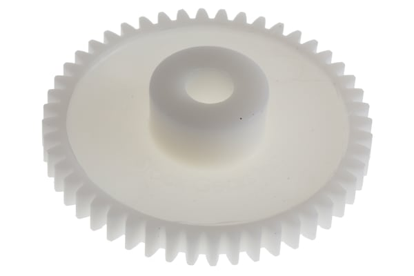 Product image for Delrin spur gear - 0.8 module 48 teeth