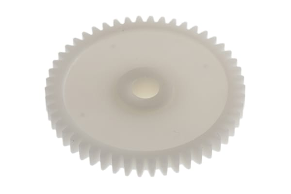 Product image for Delrin spur gear - 0.8 module 50 teeth
