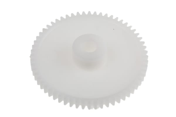 Product image for Delrin spur gear - 0.8 module 60 teeth