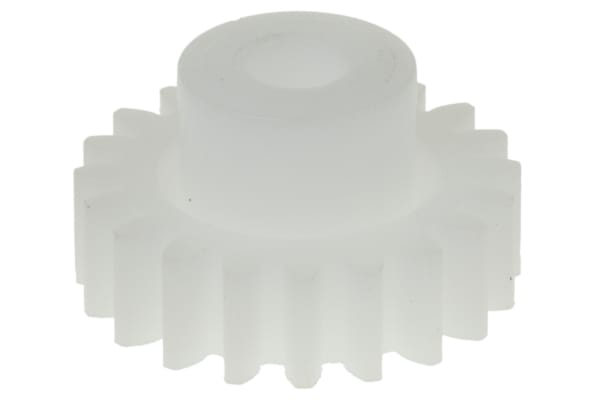 Product image for Delrin spur gear - 1.0 module 20 teeth
