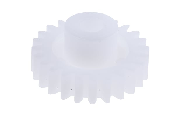 Product image for Delrin spur gear - 1.0 module 24 teeth