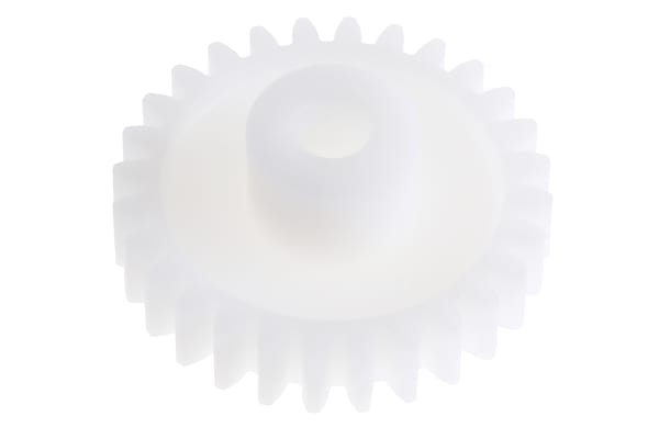 Product image for Delrin spur gear - 1.0 module 28 teeth