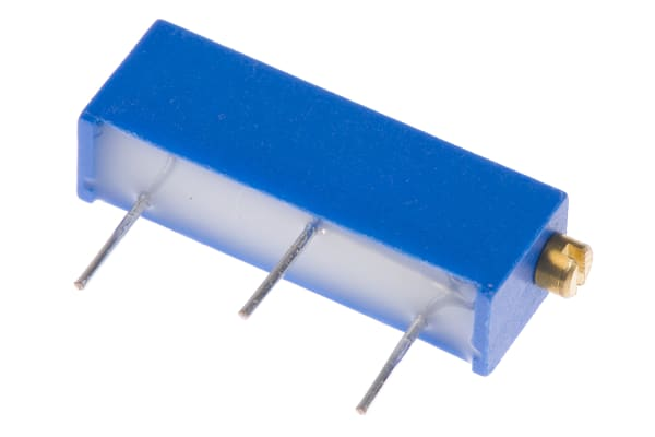 Product image for 15 turn cermet trimmer,5K 19mm 750mW