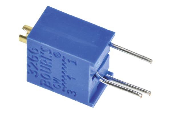 Product image for 3266W TOP ADJ CERMET TRIMMER,100R, 6MM