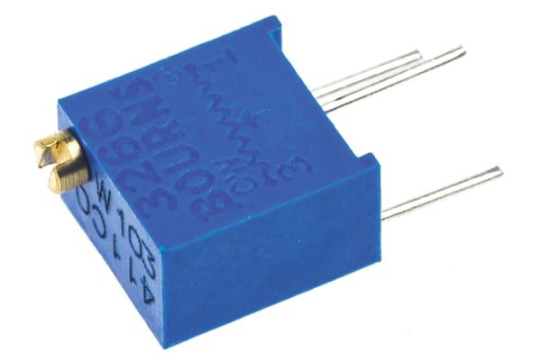 Product image for 3266W top adj cermet trimmer,10K, 6mm