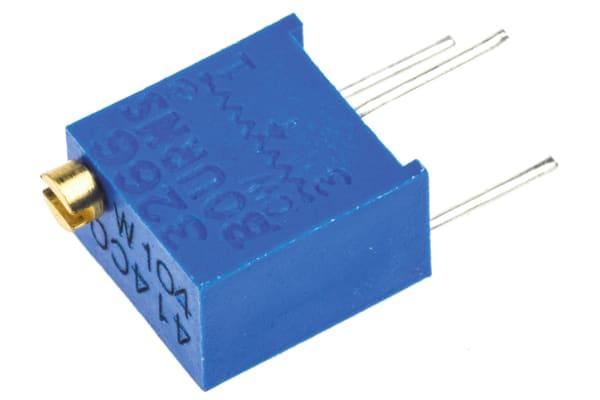 Product image for 3266W top adj cermet trimmer,100K,6mm