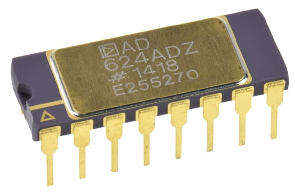 Product image for Instrumentation amplifier,AD624AD DIP16