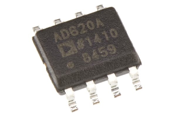 Product image for Instrumentation amp, 120kHz , SOIC8