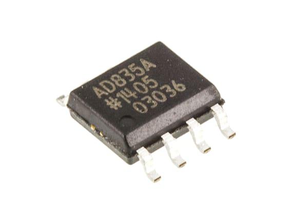 Product image for 250MHZ,4-QUADRANT MULTIPLIER,VOUT, SOIC8