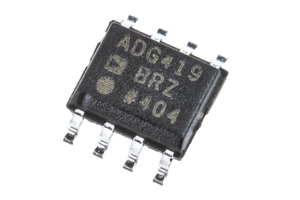 Product image for SPDT CMOS analogue switch,ADG419BR 35ohm