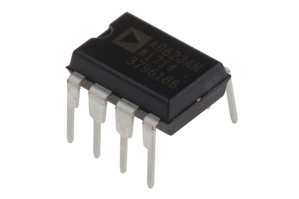 Product image for Instrumentation amplifier,AD623AN DIP8