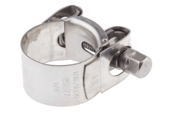 Product image for BOLT DRIVE S/STEEL HOSE CLIP, 25-27MM