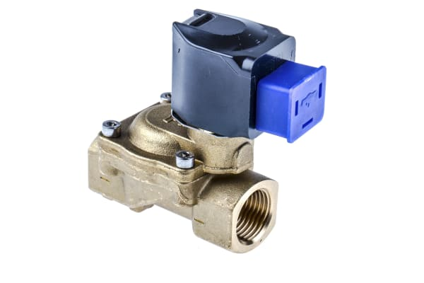 Product image for Buschjost Solenoid Valve 8240200.9101.23050, 2 port , NC, 230 V ac, 1/2in