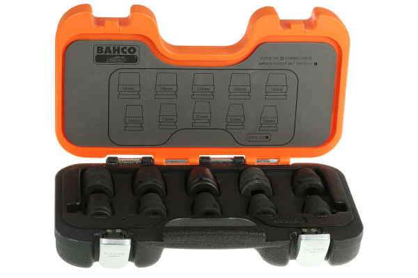"""Product image for 10-PIECE 1/2"""" DRIVE IMPACT SOCKET SET"""