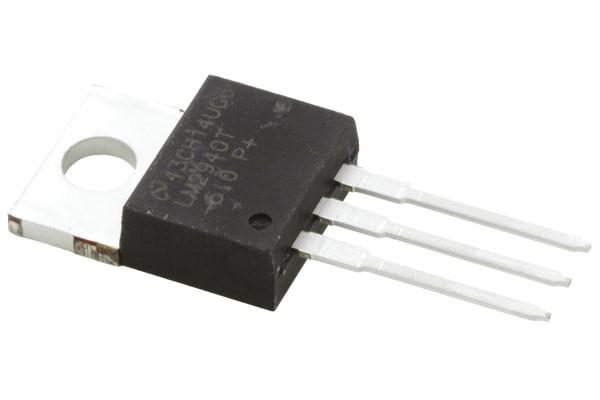 Product image for 1A,5V,LDO VOLTAGE REGULATOR,LM2940T-5.0