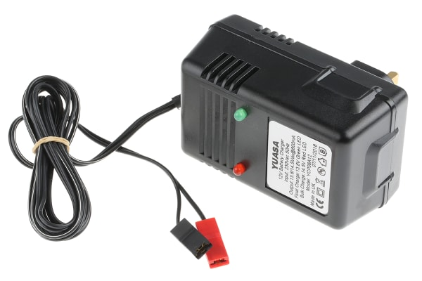 Product image for 12V LEAD ACID BATTERY CHARGER,0.6A