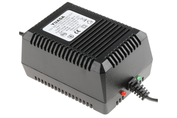 Product image for 12V LEAD ACID BATTERY CHARGER,1.0A