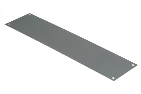 Product image for Aluminium push plate,300x75mm