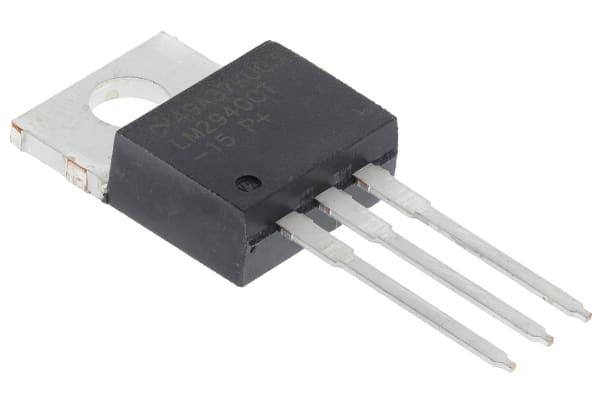 Product image for 1A,15V,LDO VOLTAGE REGULATOR,LM2940CT-15