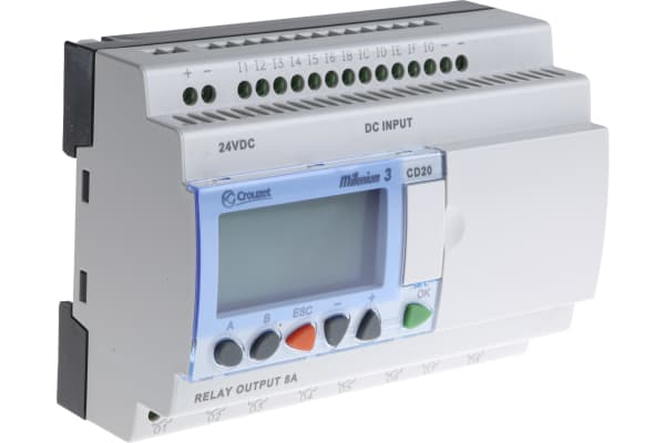 Product image for M3 controller, 20 I/O relay O/P 24Vdc