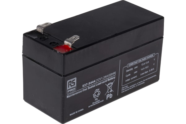 Product image for RS Sealed lead-acid battery,12V 1.2Ah