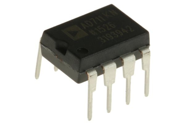Product image for Op amp,AD711KN 4MHz DIP8